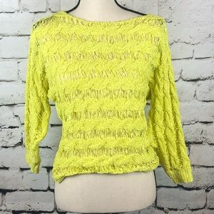 NWT Anthropologie Moth |Tape Yarn Pullover Sweater